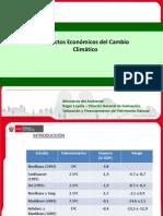 Impactos Economicos Del Cambio Climatico Peru