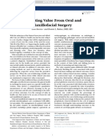 Extracting Value From Oral and Maxillofacial Surgery