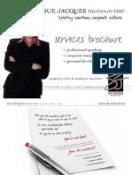 services prochures