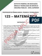 Ifb Prof 123 Matem Tica