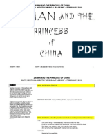 2010 SCRIPT - Zaman and the Princess of China - Cast Version Doc (2010)