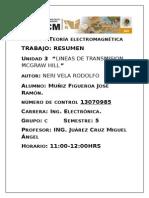 Lineas de Trasmision de Rodolfo Neri Vela