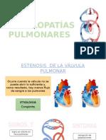 VALVULOPATÍAS-PULMONAR