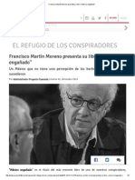 """Francisco Martín Moreno Presenta Su Libro """"México Engañado"""""""