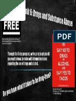 drug free billboard