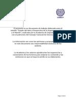 Prospectiva de La Ingenieria en Mexico y en El Mundo.