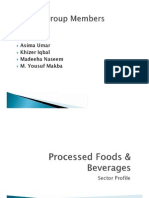 Processed Foods & Beverages