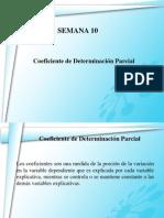 Coeficiente de Determinacion Parcial