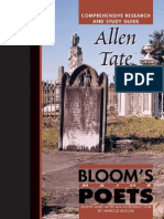 Bloom's Major Poets - Allen Tate - Comprehensive Research and Study Guide (124p) [Inua]