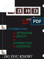 ADHD childhood