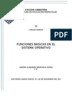 Funciones Basicas Del Sistema Operativo