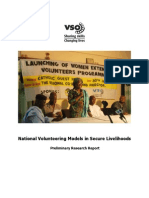 National Volunteering Programme