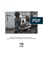 National Volunteering in Secure Livelihood
