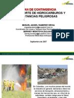 Plan Contingencia Transporte Hidrocarburos