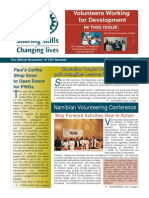 VSO Namibia Newsletter