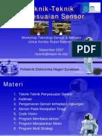 Teknik Penyesuaian Sensor