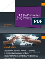 the partnership for maternal   child health