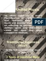 Traditional Music Ppt