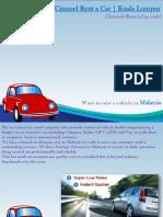 car rental kuala lumpur airport