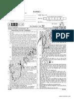 2012a June Paper I Solved