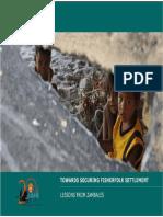 Towards Securing Fisherfolk Settlement