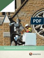 Environmental Activities Report 2014/2015