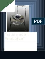 Estufa Solar Parabólica Investigacion.