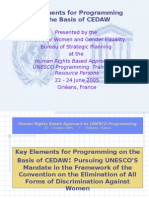 UNESCO+and+CEDAW+ppt+Presentation