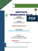 Reporte de Proyecto ( Lampara de Leds)