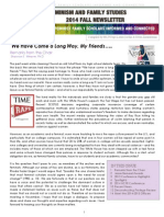 NCFR Feminist Sect Newsletter Fall 2014