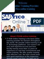 Best Sap FICO online training in Usa, Uk, Singapores, Canada, India