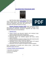 artikel standar operasional prosedur