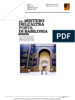 Il mistero dell'altra porta di Babilonia - Il Venerdì di Repubblica del 4 dicembre 2015