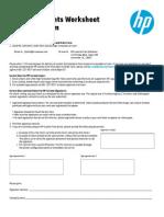 Custom Font Worksheet and Order Form