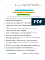 Ieee 2015 2016 Embedded Project Titles for Me m.tech