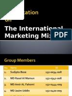 Internatonal Markring Mix Presentation