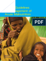 Guidelines for Acute Malnutrition (Somalia)