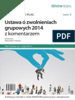 Kuźniar - Ustawa o zwolnieniach grupowych 2014 z komentarzem