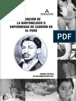 Bartolenosis en Peru