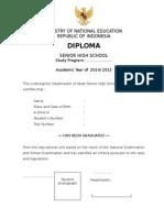 Form Ijazah English