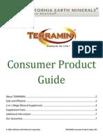 Terramin Consumer Product Guide v101