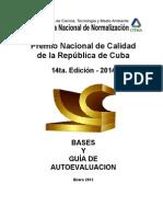 Premio Nacional de Calidad de cuba