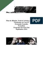 Plan de Difusión FGS 2014 Servicio País