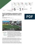 De 6! Corinthians Comemora o Hexa Aplicando Goleada Histórica Sobre o SP - Futebol - UOL Esporte