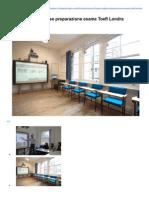 Corso Di Lingua Inglese Preparazione Esame TOEFL Londra