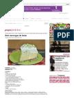 Bolo-merengue de Limão _ Bolos, Destaque _ Papo Feminino
