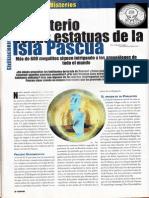 Isla de Pascua - El Misterio de Las Estatuas de Isla de Pascua R-091 Nº004 - Mas Alla de La Ciencia - Vicufo2