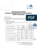 Registration Form BIPA