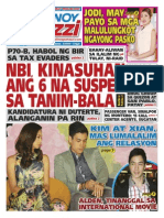 Pinoy Parazzi Vol 9 Issue 4 - December 11 - 13, 2015