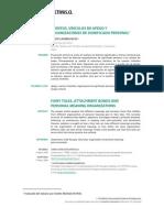 Cuentos, Vinculos de Apego y Organizaciones de Significado Personal